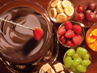 Fondue de Chocolate Simples